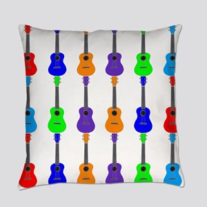 Ukuleles Everyday Pillow