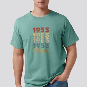 Vintage Retro Born In 1953 66th Birthday G T-Shirt