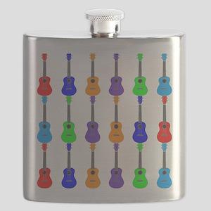 Ukuleles Flask