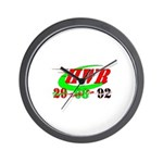 """HWR"" Wall Clock"