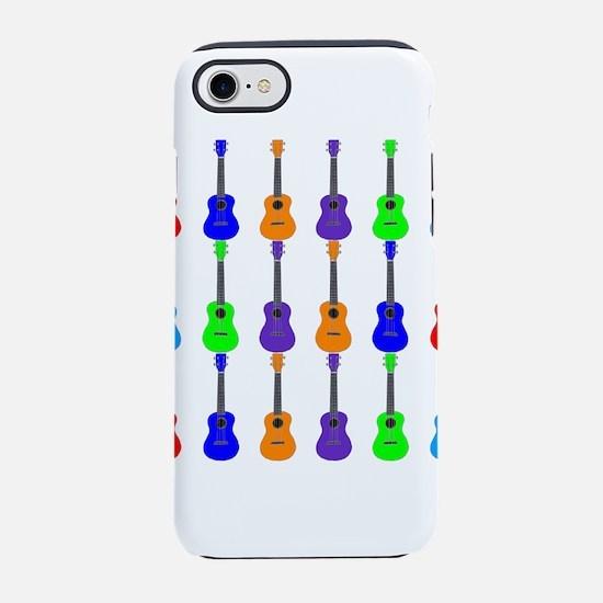 Ukuleles iPhone 7 Tough Case