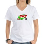 """HWR"" Women's V-Neck T-Shirt"