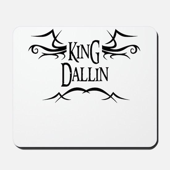 King Dallin Mousepad