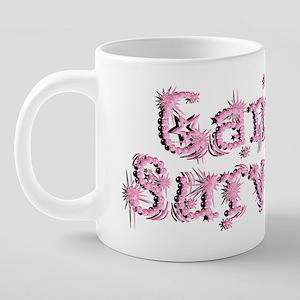 Pink Cancer Survivor 20 oz Ceramic Mega Mug