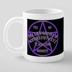 OuijaWiccanMug 20 oz Ceramic Mega Mug