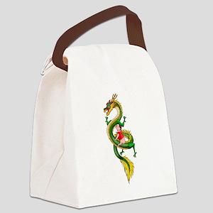 Dragon Pig Canvas Lunch Bag