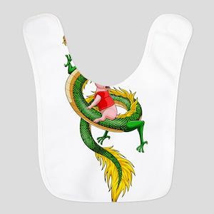 Dragon Pig Polyester Baby Bib