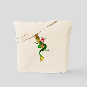 Pig Dragon Tote Bag