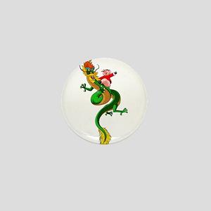 Pig Dragon Mini Button