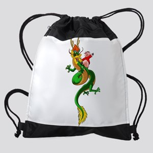 Pig Dragon Drawstring Bag