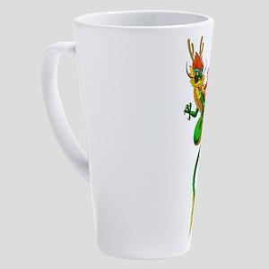 Pig Dragon 17 oz Latte Mug