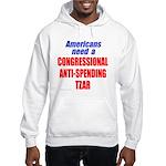 Anti-Spending Tzar Hooded Sweatshirt