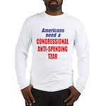 Anti-Spending Tzar Long Sleeve T-Shirt