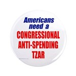"Anti-Spending Tzar 3.5"" Button (100 pack)"