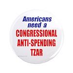 "Anti-Spending Tzar 3.5"" Button"