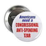 "Anti-Spending Tzar 2.25"" Button (100 pack)"