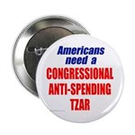 "Anti-Spending Tzar 2.25"" Button (10 pack)"