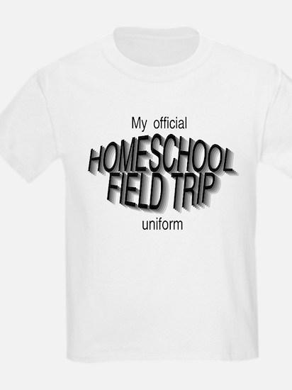 Field Trip Uniform in Gray T-Shirt