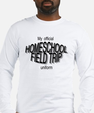 Field Trip Uniform in Gray Long Sleeve T-Shirt