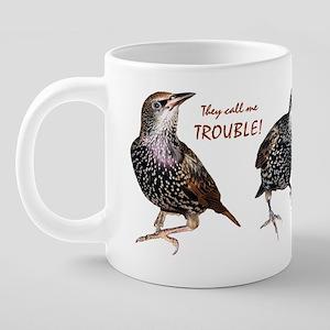 starlingcutespecial 20 oz Ceramic Mega Mug