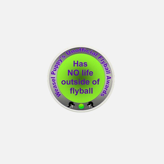 Obsessed with Flyball Award Mini Button