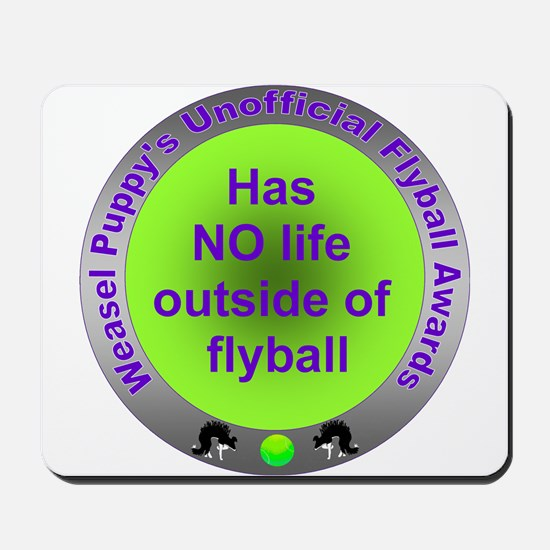 Obsessed with Flyball Award Mousepad