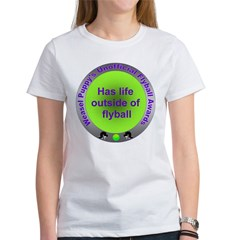 Balanced Life Flyball Award Women's T-Shirt