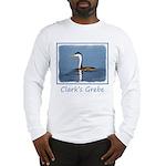 Clark's Grebe Long Sleeve T-Shirt