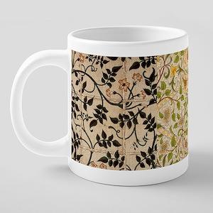 William Morris Textile Mug 20 oz Ceramic Mega Mug