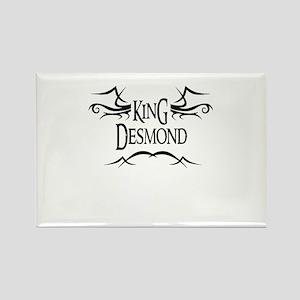 King Desmond Rectangle Magnet