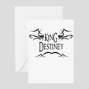King Destiney Greeting Card