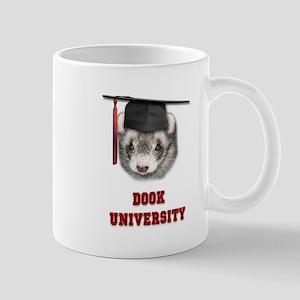 Ferret Graduation Dook University Mug