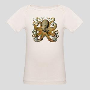 Octopus Organic Baby T-Shirt