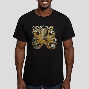 Octopus Men's Fitted T-Shirt (dark)