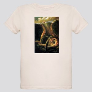 Watching Kraken Organic Kids T-Shirt