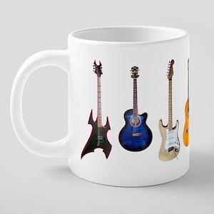 Guitar Row 20 oz Ceramic Mega Mug