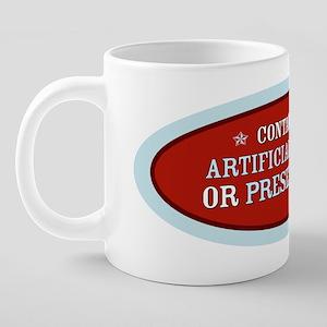 3-004-10in-red 20 oz Ceramic Mega Mug