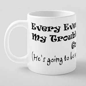 god 20 oz Ceramic Mega Mug