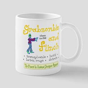 Funny Grabazombie Zombie Fashion Mug