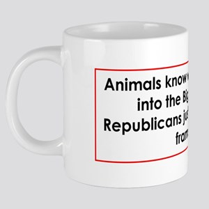 animals frame 20 oz Ceramic Mega Mug