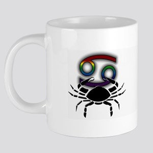 Rainbow Cancer Mug  20 oz Ceramic Mega Mug