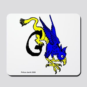 G is for Gryphon Mousepad