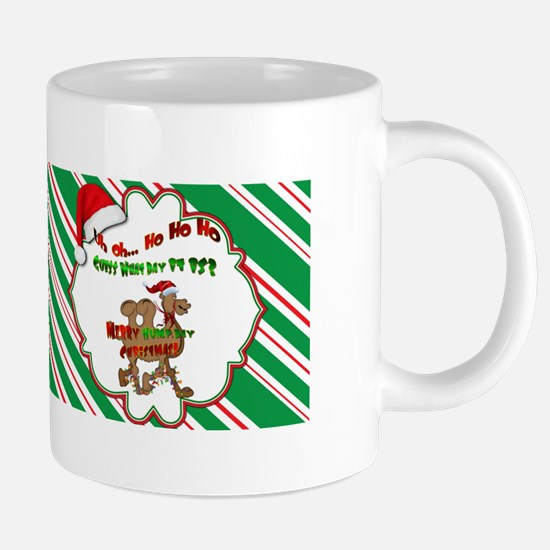 Hump Day Camel Christmas Mu 20 oz Ceramic Mega Mug