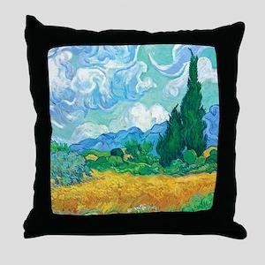 Cypresses Throw Pillow