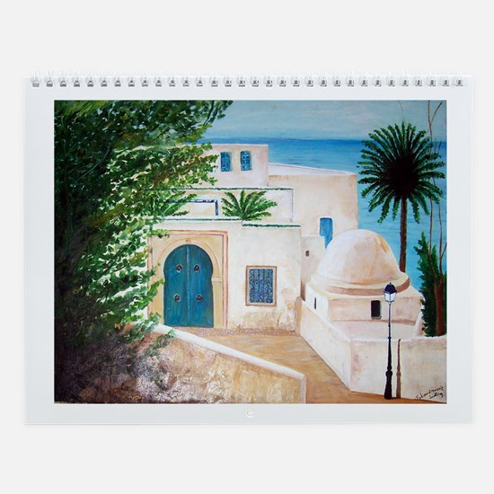 Cute Tunisia Wall Calendar