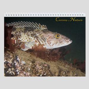 Pacific Northwest Underwater II Wall Calendar