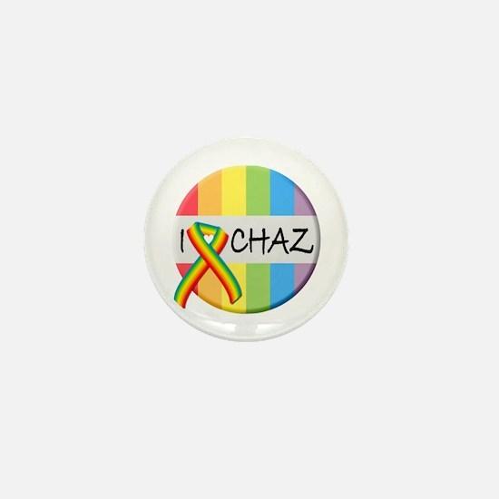 Cute Chaz Mini Button
