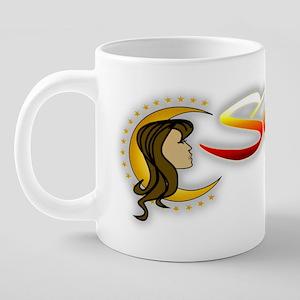 Secrets_logo_on white 20 oz Ceramic Mega Mug