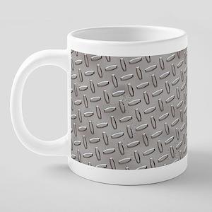 MugMetal1 20 oz Ceramic Mega Mug