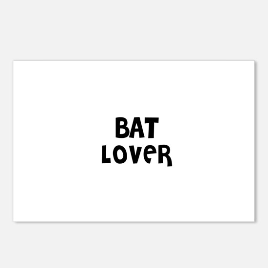 BAT LOVER Postcards (Package of 8)